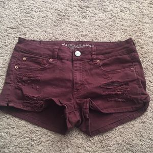 American Eagle Shortie Shorts Size 10